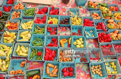 Produce at Union Square Greenmarket, New York City, New York, United States of America, North America