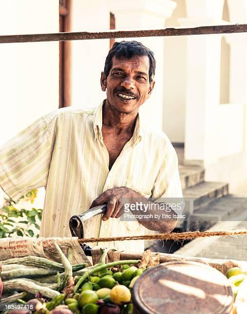 Produce Cart Vendor