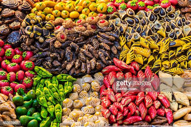 Produce in the Fes market.