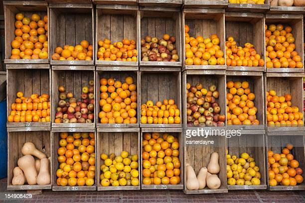 Produkten stehst Street Market, Buenos Aires, Argentinien