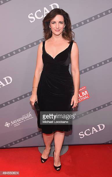 Producer Actress Kristin Davis attends a red carpet for 'Gardeners of Eden' at Trustees Theater during the Day Four of 18th Annual Savannah Film...