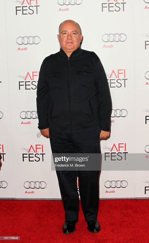 Producer Agustin Almodovar attends an evening with Pedro Almodovar and screening of 'Law Of Desire' during AFI FEST 2011 presented by Audi at...