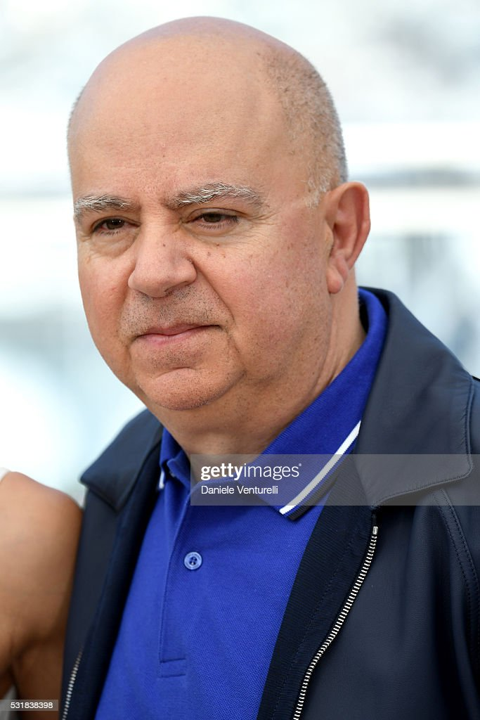 Producer Agustin Almodovar attends the 'Julieta' photocall during the 69th annual Cannes Film Festival at the Palais des Festivals on May 17 2016 in...