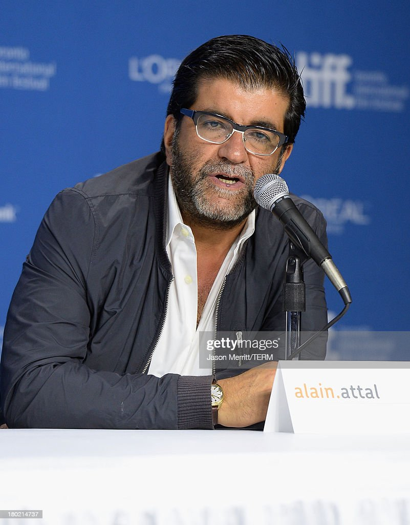 Producer Alain Attal speaks onstage at 'Blood Ties' Press Conference during the 2013 Toronto International Film Festival at TIFF Bell Lightbox on September 10, 2013 in Toronto, Canada.