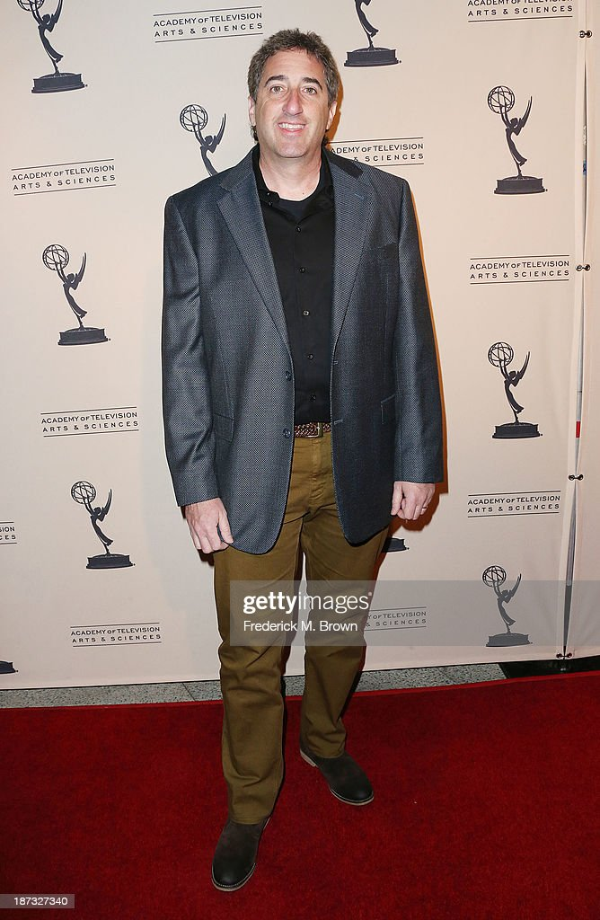 Producer Alan Freedland attends The Television Academy Presents an Evening with Amazon Studios at the Leonard H. Goldenson Theatre on November 7, 2013 in North Hollywood, California.