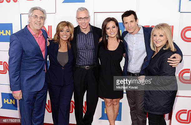 Producer Albie Hecht TV personality Jane VelezMitchell Dr Drew Pinsky TV personality Robin Meade TV personality AJ Hammer and TV personality Nancy...