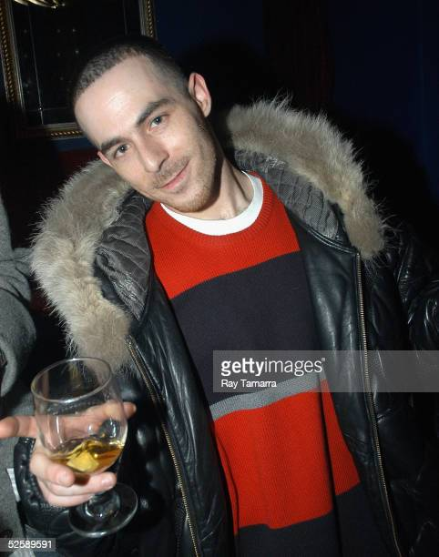 Producer Alchemist poses for photos at Faith Evans' 'The First Lady' Album Release Party at the Supper Club April 05 2005 New York