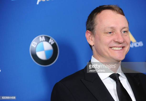 Producer Alec Berg attends the 69th annual Directors Guild of America Awards at The Beverly Hilton Hotel on February 4 2017 in Beverly Hills...