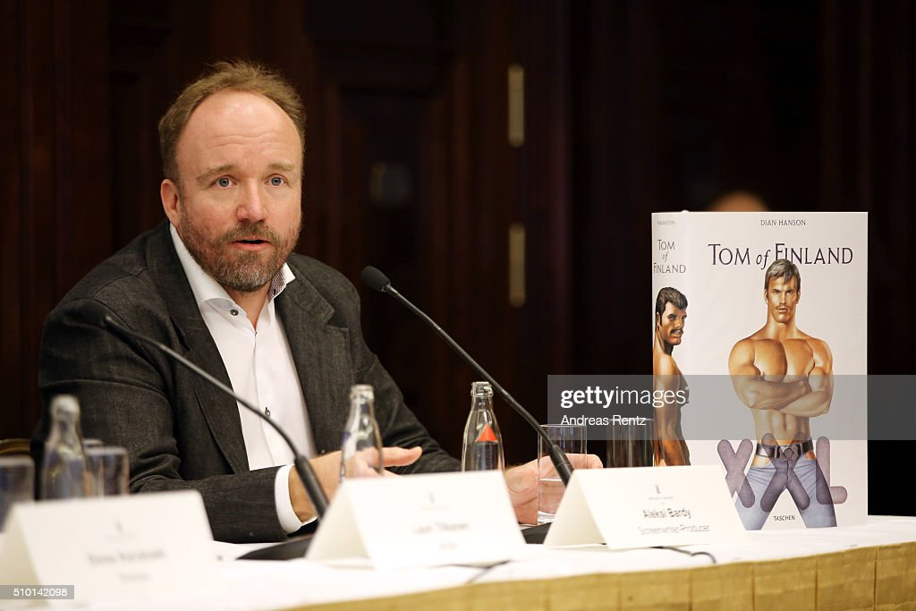 Producer Aleksi Bardy attends the 'Tom of Finland' press conference during the 66th Berlinale International Film Festival Berlin at Ritz Carlton on February 14, 2016 in Berlin, Germany.