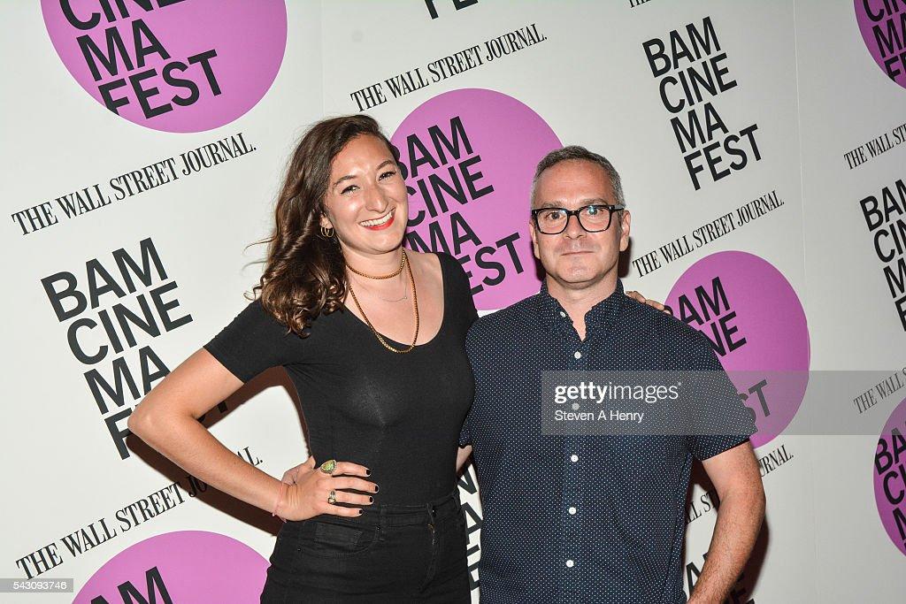 Producer Alexandra Beyer and Director Tim Sutton attend BAMcinemaFest 2016 - 'Dark Night' Closing Night Screening at BAM Harvey Theater on June 25, 2016 in New York City.