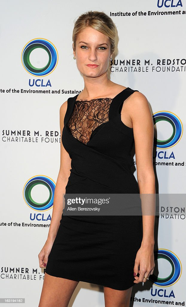 Producer Alexandria Jackson attends UCLA Institute Of The Environment And Sustainability's 2nd Annual 'An Evening Of Environmental Excellence' - Arrivals on March 5, 2013 in Beverly Hills, California.