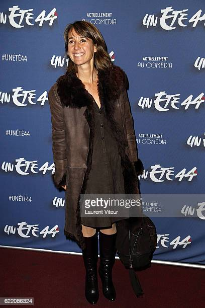 Producer Alexia Laroche Joubert attends 'Un Ete 44' Theater Play at Le Comedia on November 9 2016 in Paris France