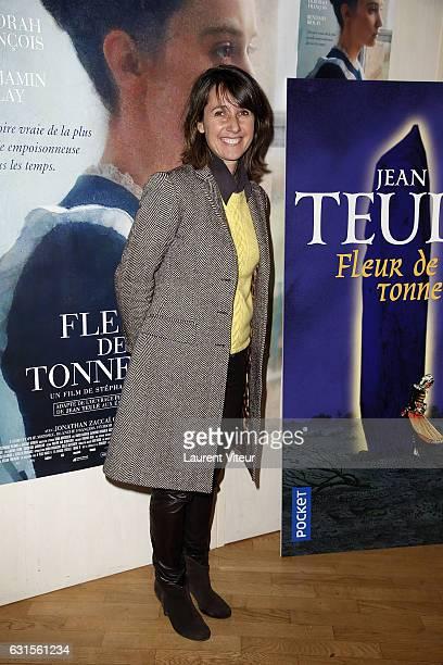 Producer Alexia LarocheJoubert attends 'Fleur de Tonerre' Paris Premiere at Cinema l'Arlequin on January 12 2017 in Paris France