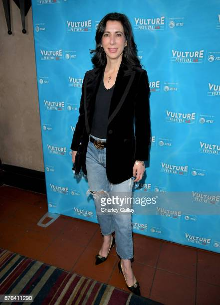 Producer Aline Brosh McKenna attends the 'Crazy ExGirlfriend 100th Song Celebration SingaLong' event during Vulture Festival LA presented by ATT at...