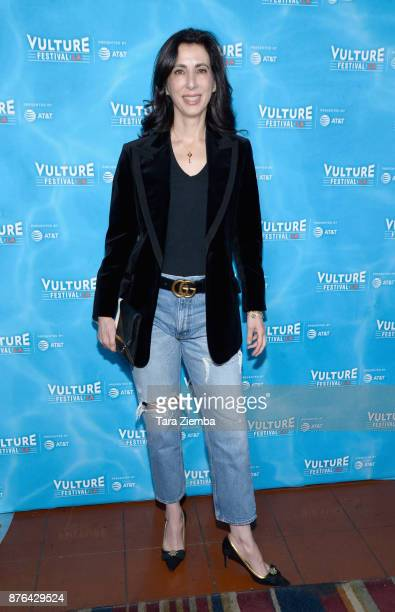 Producer Aline Brosh McKenna attends the Crazy ExGirlfriend 100th Song Celebration SingaLong event during Vulture Festival Los Angeles at Hollywood...