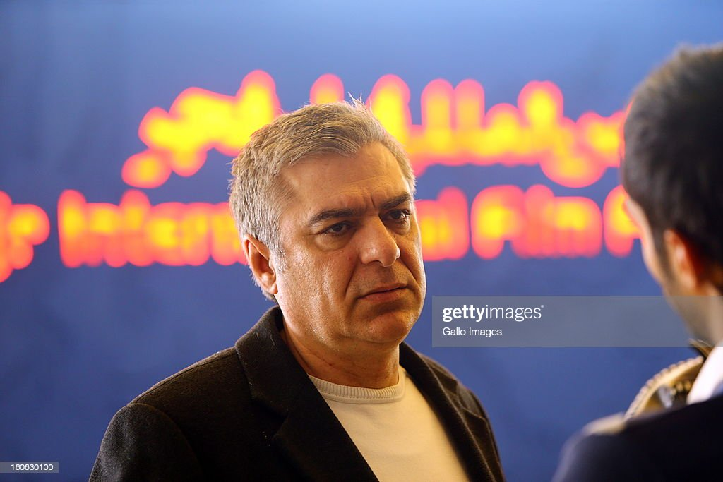 Producer Alireza Sartipi on Day 4 of the 31th International Fajr Film Festival on February 3, 2013 in Tehran, Iran. Organized by the Ministry of Culture and Islamic Guidance, the Film Festival is the most important film event in the country.