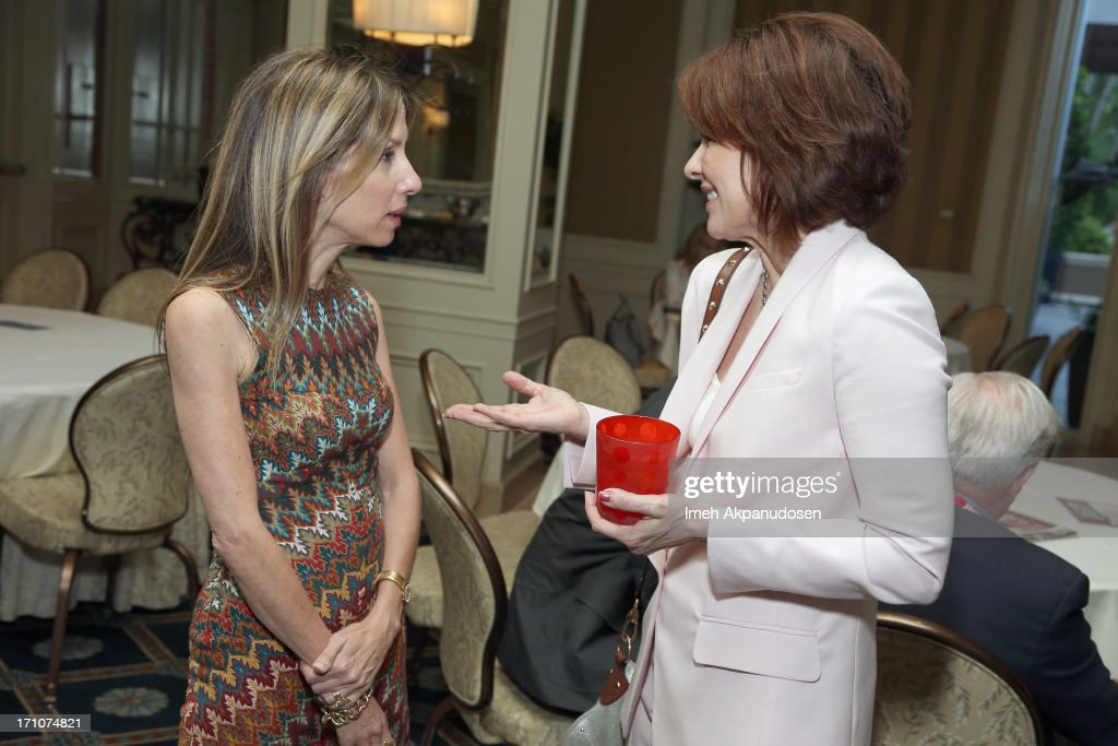Producer Alli Shearmur and actress/producer <a gi-track='captionPersonalityLinkClicked' href=/galleries/search?phrase=Patricia+Heaton&family=editorial&specificpeople=173459 ng-click='$event.stopPropagation()'>Patricia Heaton</a> attend Variety's Purpose: The Faith And Family Summit in Association with Rogers and Cowan at Four Seasons Hotel Los Angeles on June 21, 2013 in Beverly Hills, California.