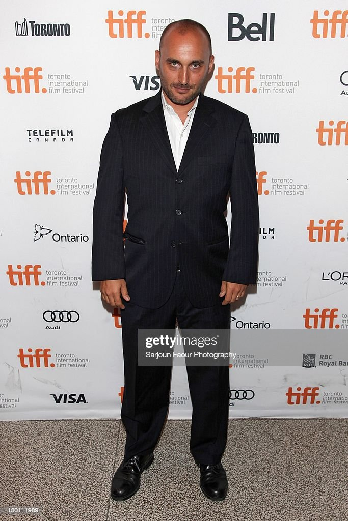 Producer Amir Bar-Lev attends the '12.12.12.' premiere during the 2013 Toronto International Film Festival at Winter Garden Theatre on September 8, 2013 in Toronto, Canada.