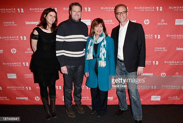 Producer Amy Ziering Congressman Mike Turner Congresswoman Jackie Speier and Director Kirby Dick attend 'The Invisible War' premiere during the 2012...
