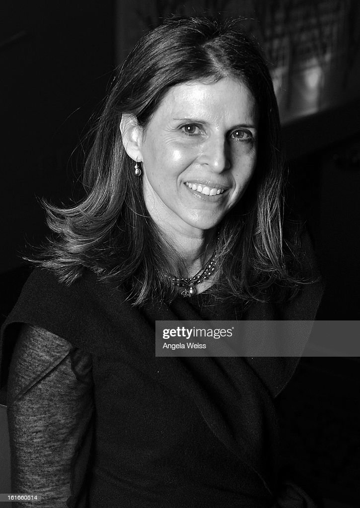 Producer Amy Ziering poses for a portrait at TheWrap's screening of 'The Invisible War' at Sunset Sundance Cinemas on February 13, 2013 in Los Angeles, California.
