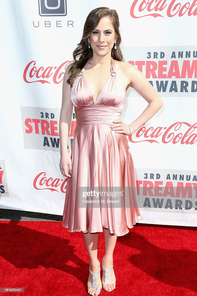 Producer Ana Kasparian attends the 3rd Annual Streamy Awards at Hollywood Palladium on February 17, 2013 in Hollywood, California.