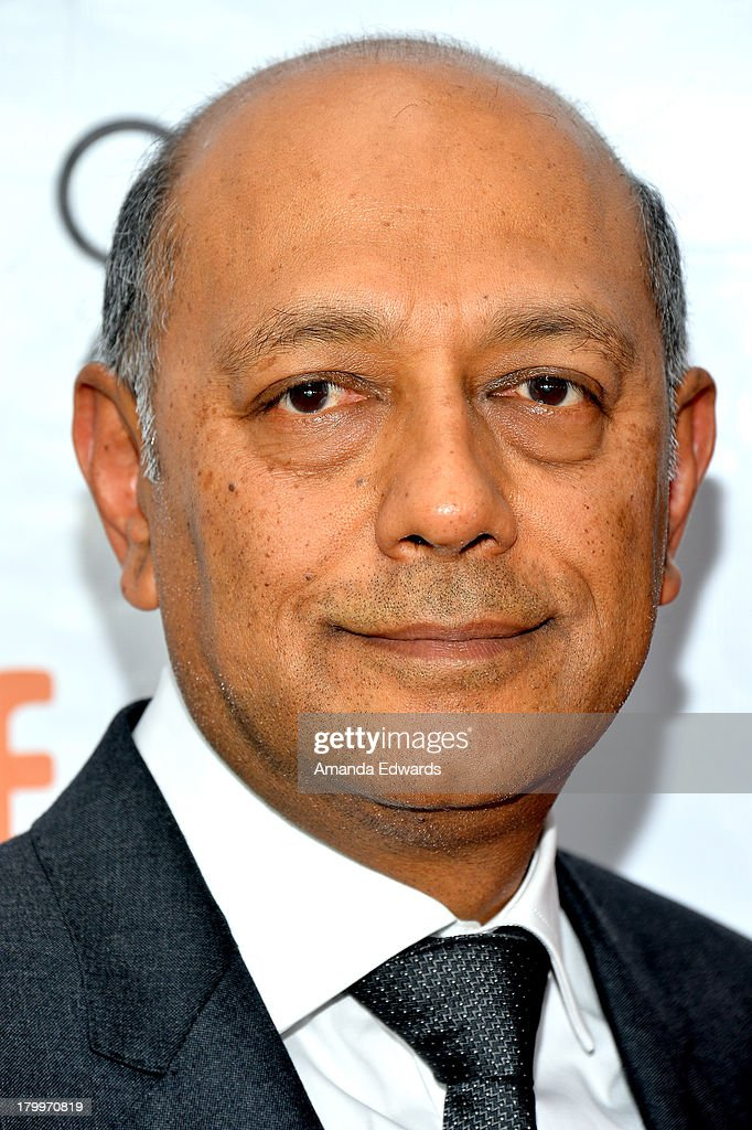 Producer Anant Singh attends the 'Mandela: Long Walk To Freedom' premiere during the 2013 Toronto International Film Festival at Roy Thomson Hall on September 7, 2013 in Toronto, Canada.