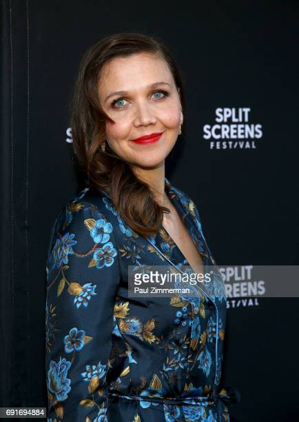 Producer and actress Maggie Gyllenhaal attends the 2017 IFC Split Screens Festival 'The Deuce' Premiere at IFC Center on June 2 2017 in New York City