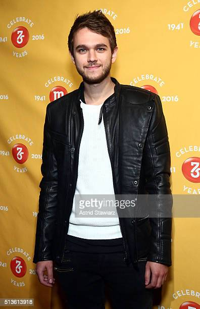 Producer and DJ Zedd attends the MM's 75th Birthday Launch Event at the Altman Building on March 3 2016 in New York City