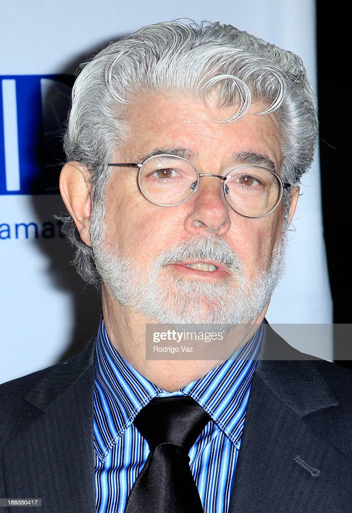 Producer and Founder of Lucasfilm Ltd <a gi-track='captionPersonalityLinkClicked' href=/galleries/search?phrase=George+Lucas&family=editorial&specificpeople=202500 ng-click='$event.stopPropagation()'>George Lucas</a> arrives at the Anti-Defamation League Centennial Entertainment Industry Awards Dinner at The Beverly Hilton Hotel on May 8, 2013 in Beverly Hills, California.