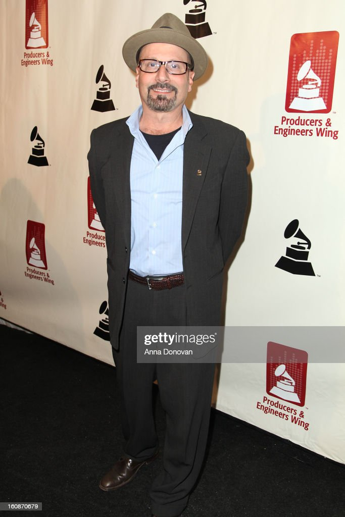 Producer and mixing engineer Brian Malouf attends the producers & engineers wing of the recording Academy's 6th Annual GRAMMY Event 'An Evening Of Jazz' at The Village Recording Studios on February 6, 2013 in Los Angeles, California.