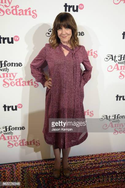 """Producer and writer Jodi Lennon attends the premiere screening and party for truTV's new comedy series """"At Home with Amy Sedaris"""" at The Bowery Hotel..."""