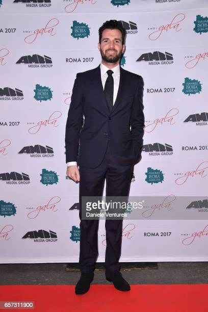 Producer Andrea Iervolino attends AMBI GALA In Honour Of Andy Garcia And Bobby Moresco on March 23 2017 in Rome Italy