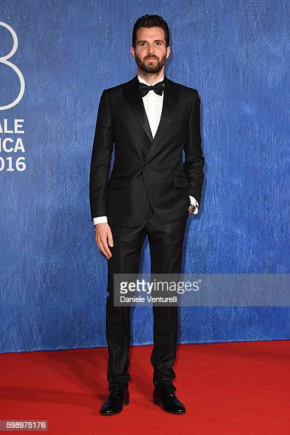 Producer Andrea Iervolino attends the premiere of 'In Dubious Battle' during the 73rd Venice Film Festival at Sala Giardino on September 3 2016 in...