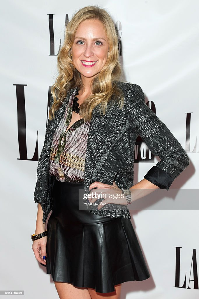 Producer Andrea Pappas attends the 9th Annual La Femme International Film Festival 'A Case Of You' premiere at Regal Cinemas L.A. Live on October 19, 2013 in Los Angeles, California.