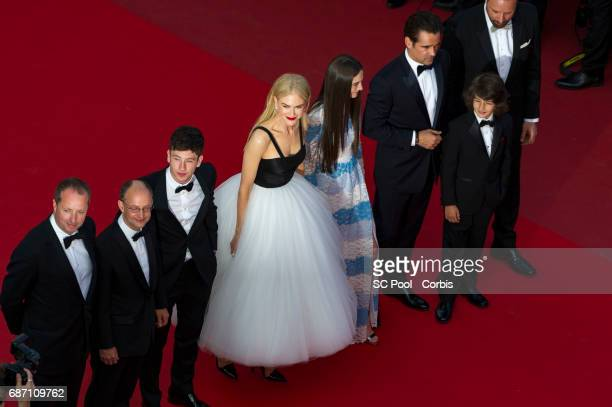 Producer Andrew Lowe producer Ed Guiney actor Barry Keoghan actress Nicole Kidman actress Raffey Cassidy actor Colin Farrell actor Sunny Suljic and...