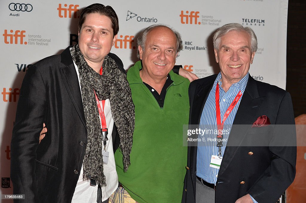 Producer Andrew van den Houten Executive Producer Arrien Schiltkamp and Robert Tonino arrive at the 'All Cheerleaders Die' premiere during the 2013...