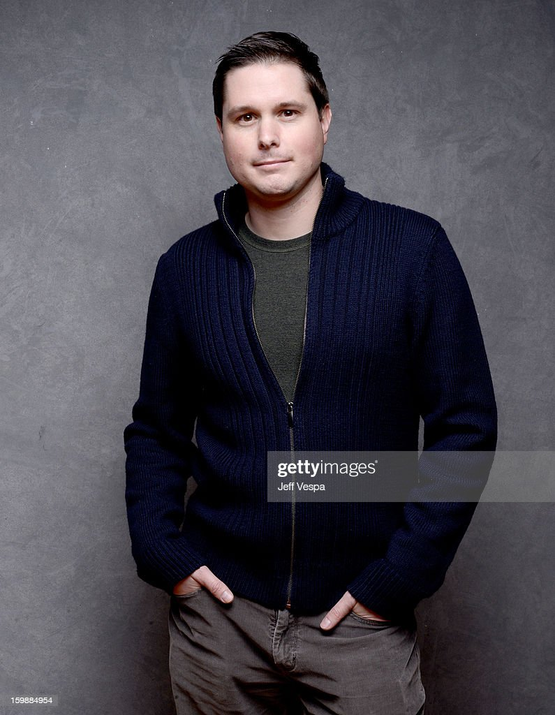 Producer Andrew van den Houten poses for a portrait during the 2013 Sundance Film Festival at the WireImage Portrait Studio at Village At The Lift on January 22, 2013 in Park City, Utah.