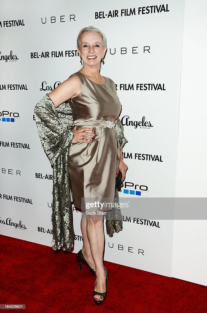 Producer Anna Armstrong arrives at the 2013 Bel-Air Film Festival Red Carpet Gala at Hammer Museum on October 10, 2013 in Westwood, California.