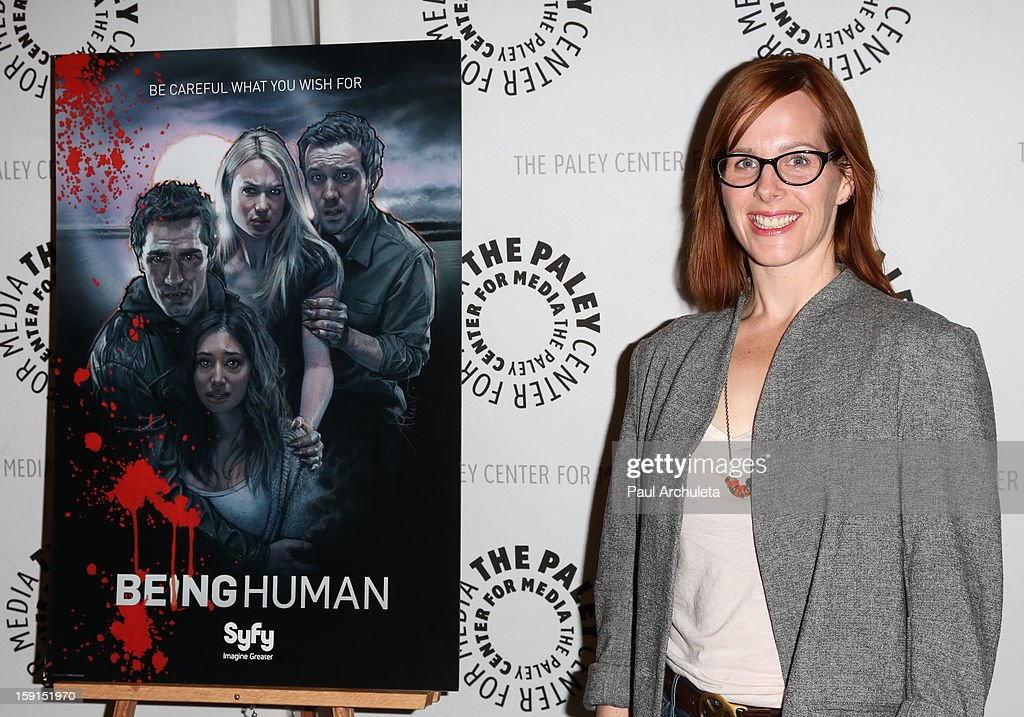 Producer Anna Fricke attends the premiere screening and panel discussion of Syfy's 'Being Human' season 3 at The Paley Center for Media on January 8, 2013 in Beverly Hills, California.