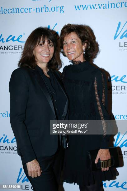 Producer Anne Marcassus and Sylvie Rousseau attend the 'Vaincre Le Cancer' Gala 30th Anniverary at Cercle de l'Union Interalliee on May 17 2017 in...