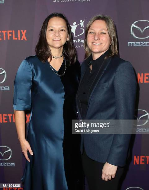 Producer Annie Imhoff and Netflix Vice President of Original Content Cindy Holland attend Big Brothers Big Sisters of Greater Los Angeles' 2017 Big...