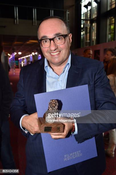 Producer Antonino Lombardo during the premiere of 'Ihre Beste Stunde' as closing movie of Munich Film Festival 2017 at Gasteig on July 1 2017 in...