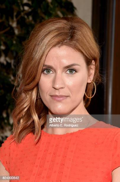 Producer Aude Albano of 'Versailles' at the Ovation Summer TCA Press Tour at The Beverly Hilton Hotel on July 29 2017 in Beverly Hills California