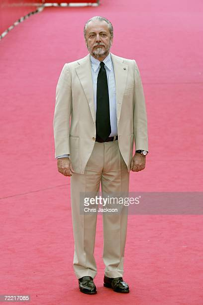 Producer Aurelio De Laurentiis attends the premiere of the movie 'Nos Jours Hereux' on the seventh day of Rome Film Festival on October 19 2006 in...