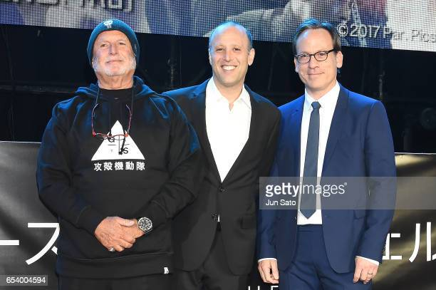 Producer Avi Arad Producer Ari Arad and Executive Producer Michael Costigan attend the World Premiere of the Paramount Pictures release 'Ghost In The...