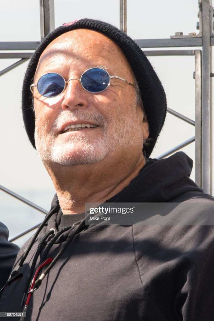 Producer <a gi-track='captionPersonalityLinkClicked' href=/galleries/search?phrase=Avi+Arad&family=editorial&specificpeople=208963 ng-click='$event.stopPropagation()'>Avi Arad</a> visits The Empire State Building on April 25, 2014 in New York City.