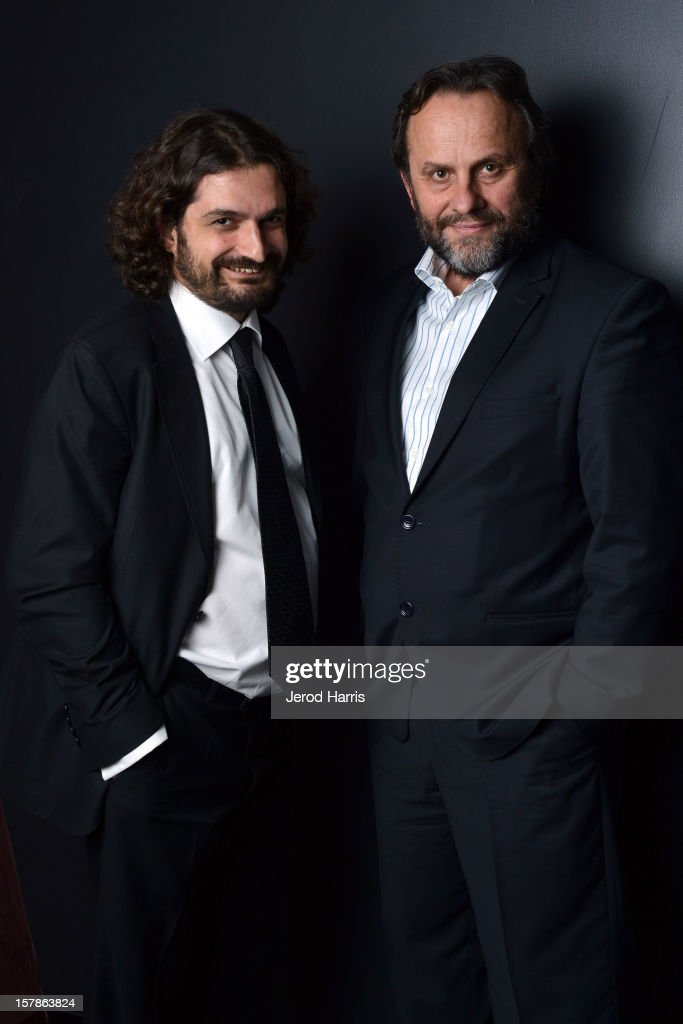 Producer Baran Seyhan and Director Ismail Gunes attend TheWrap's Awards Season Screening Series of Atesin Dustugu Yer 'Where The Fire Burns' on December 6, 2012 in Los Angeles, California.