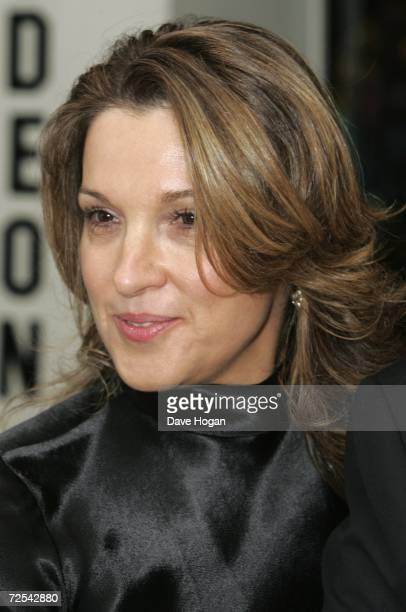 Producer Barbara Broccoli attends the Royal Film Performance 2006 and World Premiere of the 21st James Bond movie 'Casino Royale' at the Odeon...
