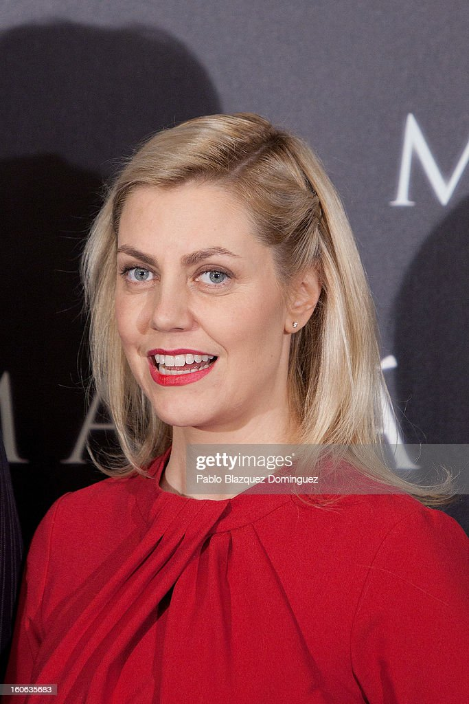 Producer Barbara Muschietti attend the 'Mama' photocall at Villamagna Hotel on February 4, 2013 in Madrid, Spain.