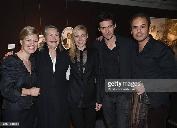 Producer Barbara Romer Cherry Jones Juliet Rylance director Christian Camargo and producer Tommaso Ortino attend 'Days And Nights' New York Premiere...